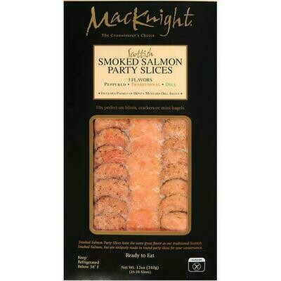 MacKnight Smoked Salmon Slices 340 g/ 12 oz