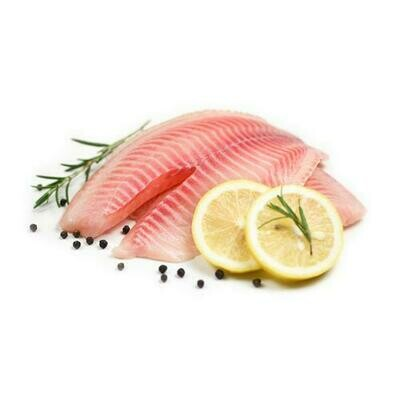Sea Gallery Frozen Tilapia Fillet, Tray Pack  1 kg / 2.2 lb