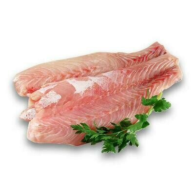 Sea Gallery Frozen Corvina Fillets, Skinless, Bag  800 g. / 1.76 Lb.