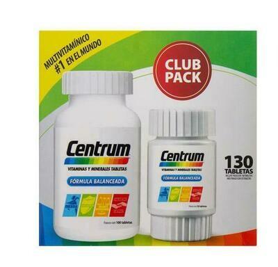 Centrum Multivitamin 130 Tablets