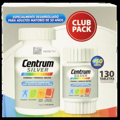 Centrum Silver Vitamins 130 tablets