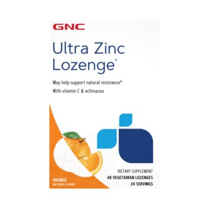 GNC Ultra Zinc Lozenge 48 tablets
