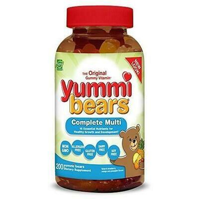 Children's Complete Multi-Vitamins 200 ct