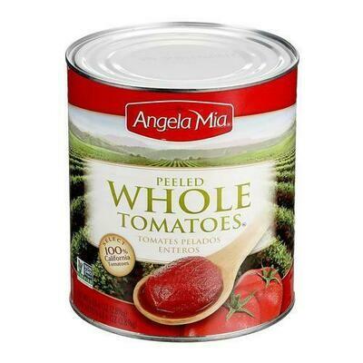 Angela Mia Whole Tomatoes 102 oz/ 2.89 kg