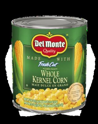 Del Monte Whole Kernel Corn 106 oz