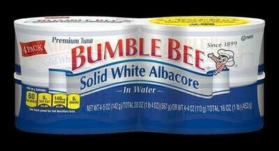 Bumble Bee Albacore 4 pk - 5 oz/ 142 g