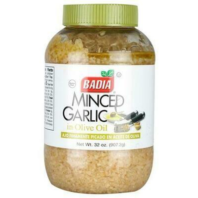 Badia Minced Garlic in Oil 32 oz/ 907 g