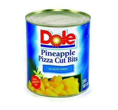 Dole Pineapple Pizza Cuts 100 oz/ 2.8 kg