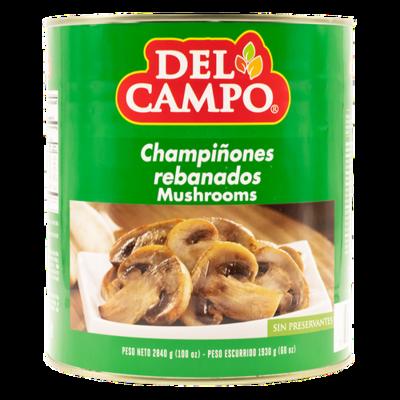 Del Campo Sliced Mushrooms 2.84 kg