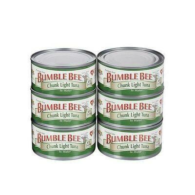 Bumble Bee Chunk Tuna in Water 6 pk/6oz