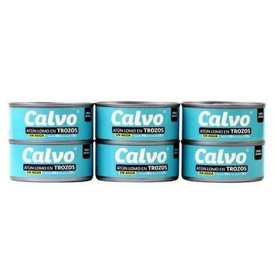 Calvo Tuna in Water 6 units / 160 g
