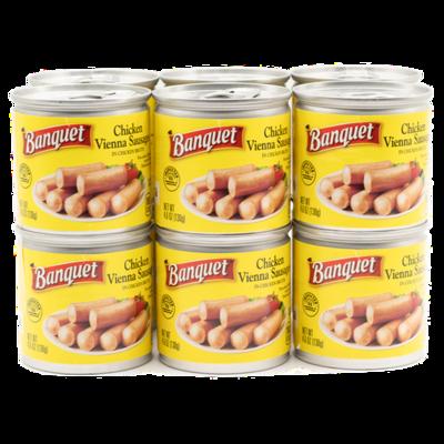 Banquet Vienna Sausage 12 units/6oz