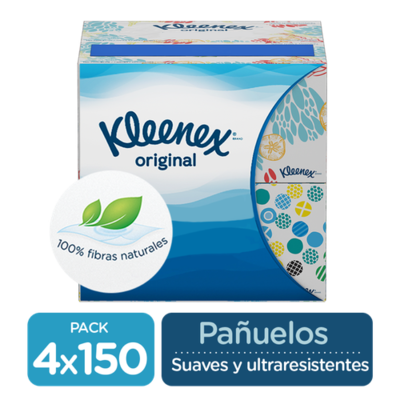 Kleenex Facial Tissues 4 units /150 sheets