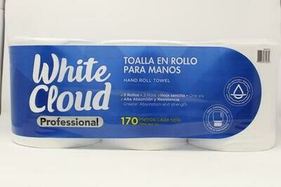 White Cloud Institucional Paper Towels 3 units/170 meters