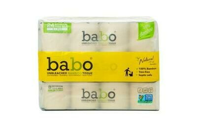 Babo Bamboo Bath Tissue 24 ct/200 sheets