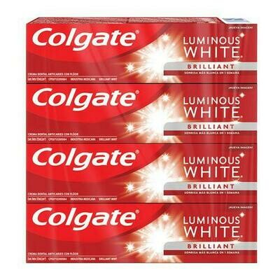Colgate Luminous White Toothpaste 4 units /125 ml