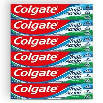 Colgate Triple Action Toothpaste 6 units/125 ml