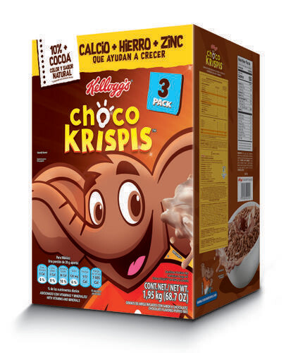 Choco Krispis Breakfast Cereal 3 pk/68.7 oz