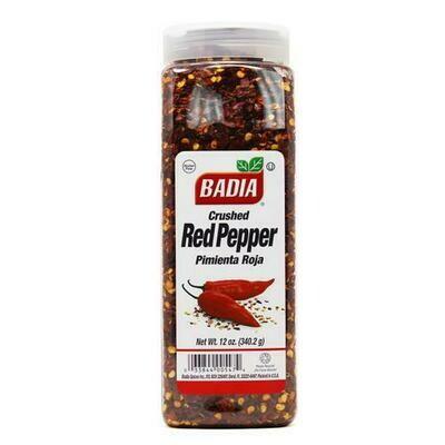 Badia Red Crushed Pepper 12 oz/ 340 g