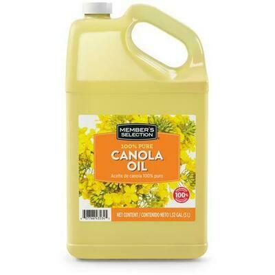 Member's Selection 100% Pure Canola Oil 5 L / 1.32 Gallon