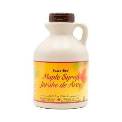 Sucro-Bec Maple Syrup 20.28 oz / 575 g