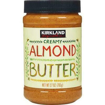 Kirkland Signature Creamy Almond Butter 26 oz