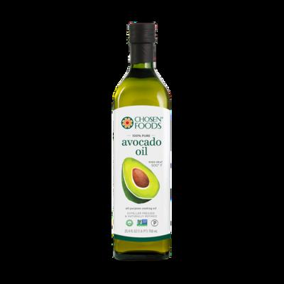 Chosen Foods Avocado Oil 750 ml