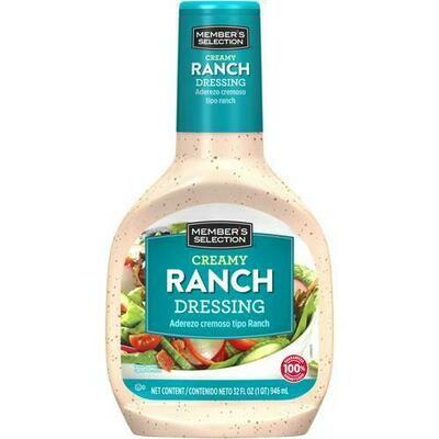 Member's Selection Creamy Ranch Dressing 946 ml / 32 fl oz