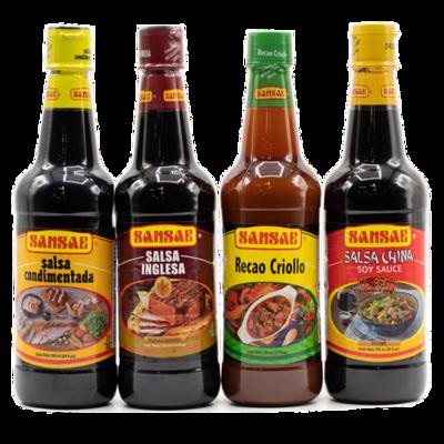 Sansae Assorted Sauces 4 units/720ml