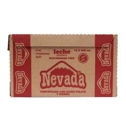 Nevada Skim Milk 12 units/946ml