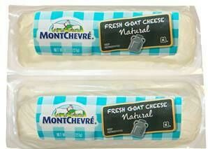 Montchevre Plain Goat Cheese 2 pk/ 297 g / 10.5 oz