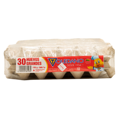 Toledano Big Eggs 60 units