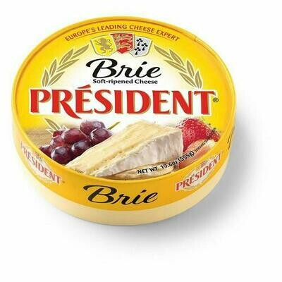 President Brie Soft-Ripened Cheese 555 g/ 19.6 oz