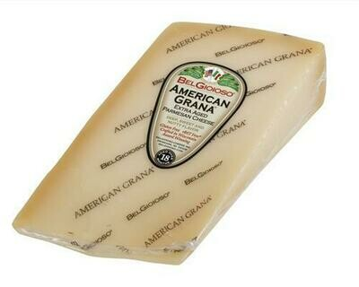 Belgioioso American Grana Parmesan Wedge 454 g/ 16 oz
