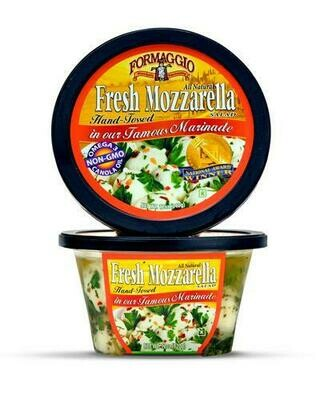 Formaggio Marinated Mozzarella Balls 340 g/ 12 oz