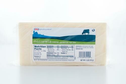 Mozzarella Cheese  907 g / 2 lb