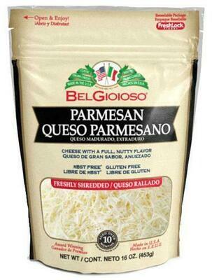 Belgioioso Shredded Parmesan 454 g / 1 lb