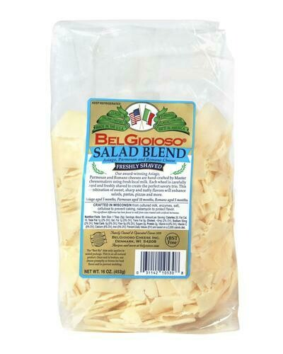 Belgioioso Salad Blend Cheese 454 g/ 16 oz