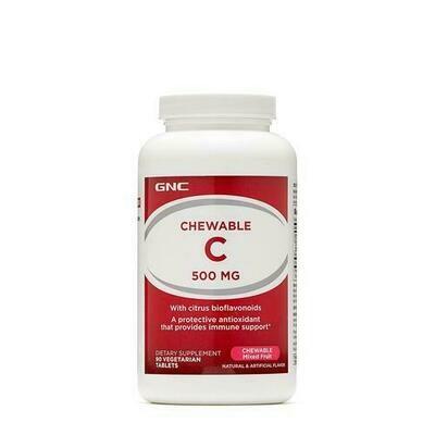 GNC C Shew Vitamins 180 ct