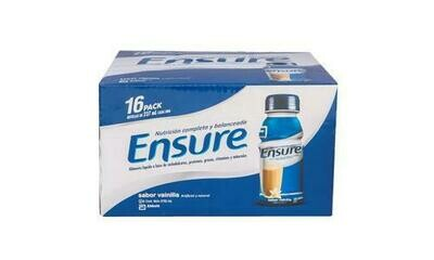 Ensure Vainilla Powdered Suplement 16 Units /273 ml-8 oz