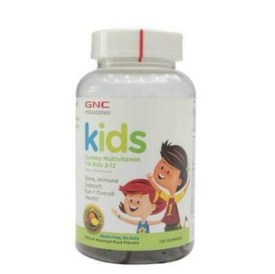 GNC Kids Gummy Multivitam 120 units