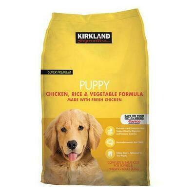 Kirkland Signature Super Premium Puppy Food 20 lb/ 9 kg