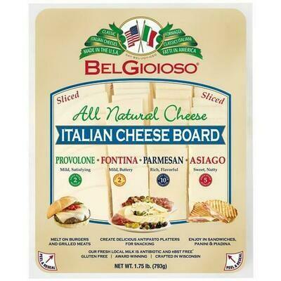 Belgioioso Cheese Plate 793 g/ 28 oz