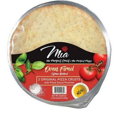 """Mia Original 12"""" Pizza Crusts 2 pk -30.69 oz"""