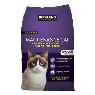 Kirkland Signature Super Premium Cat Food 25 lbs/ 11.34 kg