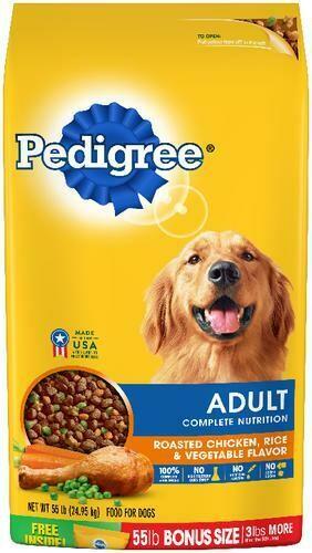 Pedigree Adult Dog Food 55 lb