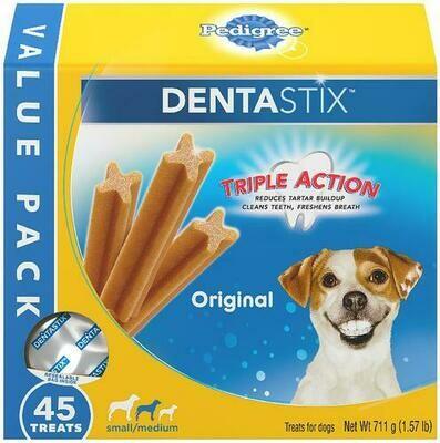 Pedigree Dentastix 45 Units 1.57/711g