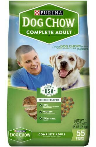 Purina Dog Chow 55lb /22.7 kg