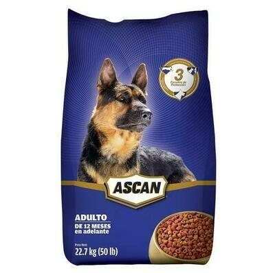 Ascan Adult Dog Food 22.7kg /50lb