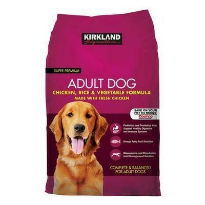 Kirkland Signature Super Premium Adult Dog Food 40 lb/ 18 kg